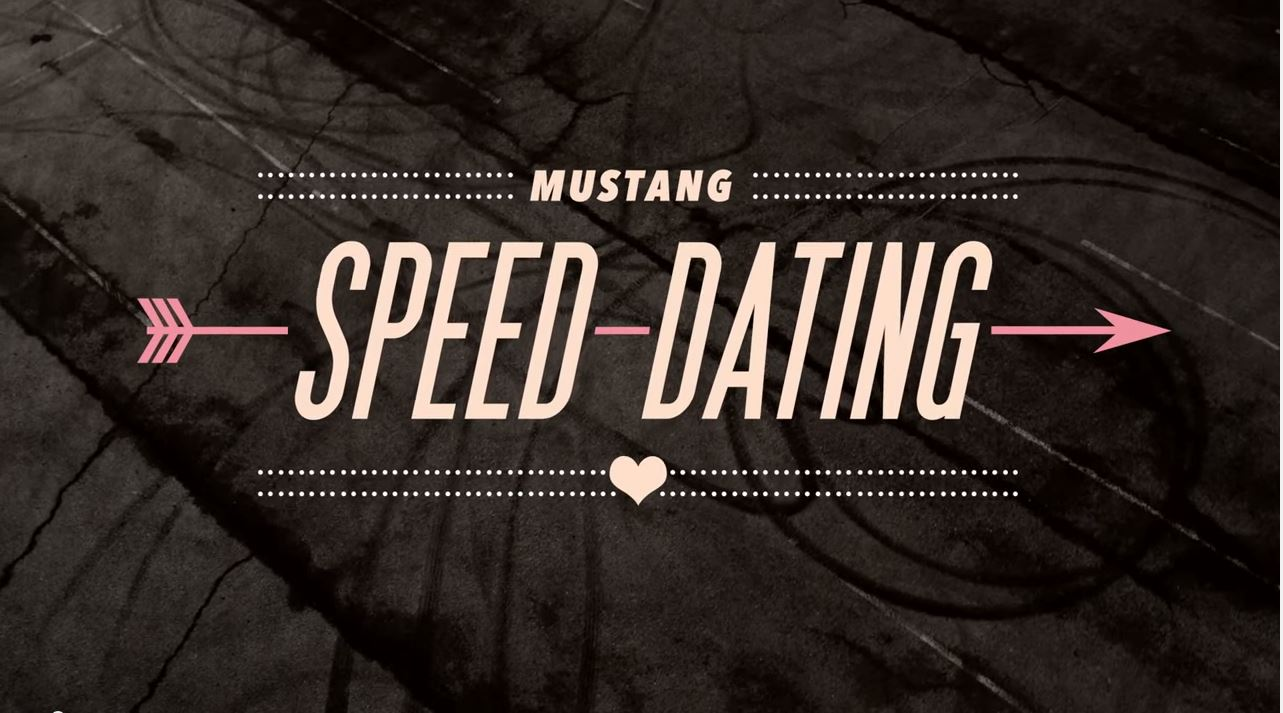 2015 Ford Mustang Speed Dating